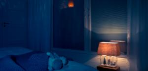 Solar MOON pimennysverho pimentää makuuhuoneen tehokkaasti